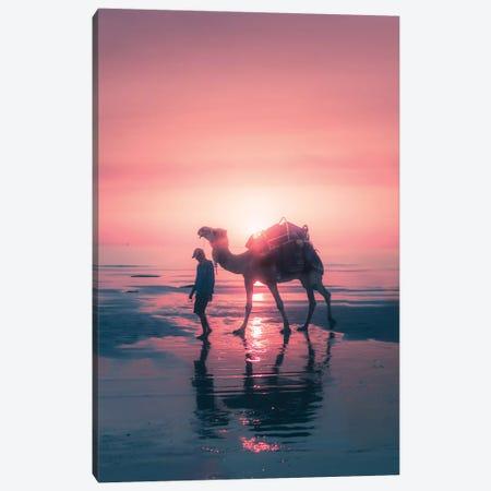 Sunset Camel Canvas Print #JXR50} by Jaxon Roberts Canvas Print