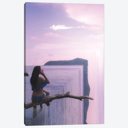 The Edge Of The World II 3-Piece Canvas #JXR60} by Jaxon Roberts Canvas Artwork