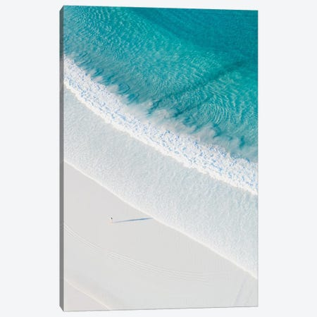 The Most Perfect Beach Canvas Print #JXR63} by Jaxon Roberts Canvas Artwork