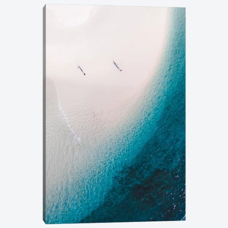 Turqoise Bay Canvas Print #JXR77} by Jaxon Roberts Canvas Artwork