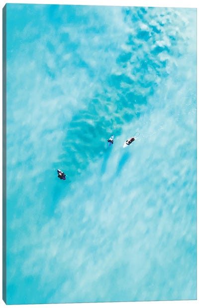 Clear Waters Canvas Art Print