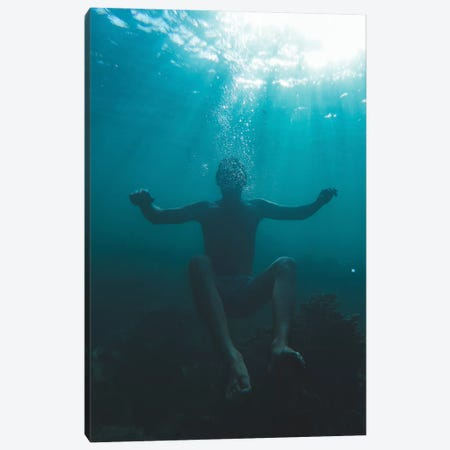 Underwater Mood Canvas Print #JXR81} by Jaxon Roberts Canvas Art