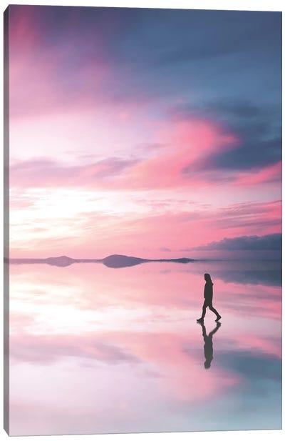 Walking On A Dream II Canvas Art Print