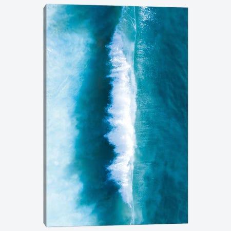 Wave Split I Canvas Print #JXR87} by Jaxon Roberts Art Print