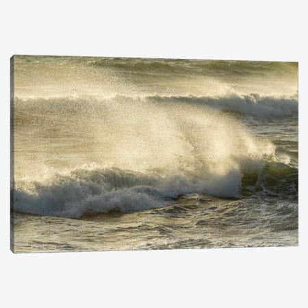 Usa, California, San Luis Obispo County. Wind-Blown Surf. Canvas Print #JYG1028} by Jaynes Gallery Art Print