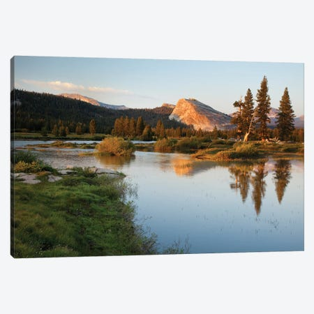 Usa, California, Yosemite National Park. Lembert Dome And Tuolumne River Landscape. Canvas Print #JYG1032} by Jaynes Gallery Canvas Wall Art