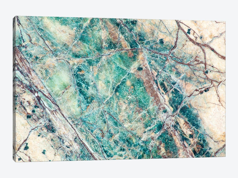 Usa, California. Detail Of Cut Slab Of Marble Rock. by Jaynes Gallery 1-piece Canvas Art Print