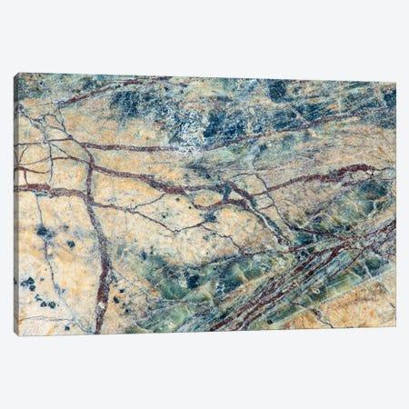 Usa, California. Detail Of Cut Slab Of Marble Rock. Canvas Print #JYG1040} by Jaynes Gallery Art Print