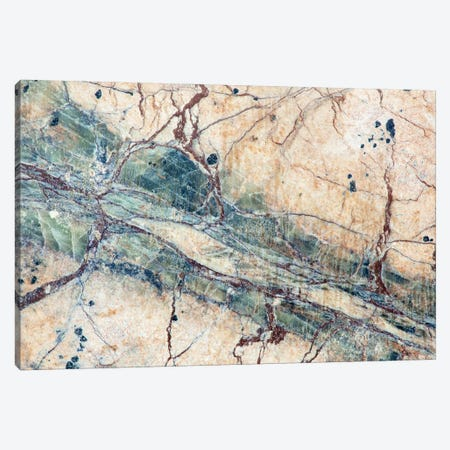 Usa, California. Detail Of Cut Slab Of Marble Rock. Canvas Print #JYG1041} by Jaynes Gallery Art Print