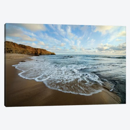 USA, California, San Diego. Beach at Sunset Cliffs Park. Canvas Print #JYG104} by Jaynes Gallery Canvas Art Print