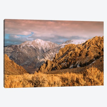 Usa, California. White Mountains Landscape. Canvas Print #JYG1051} by Jaynes Gallery Canvas Art