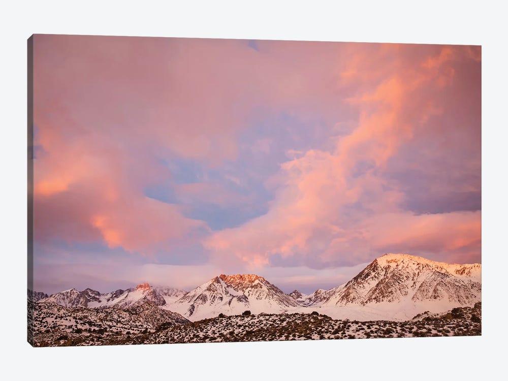 USA, California, Sierra Nevada Range. Sunrise on mountains II by Jaynes Gallery 1-piece Canvas Print