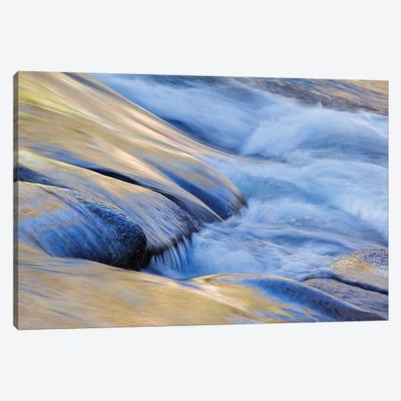 USA, California, Yosemite National Park. Autumn reflections on Merced River. Canvas Print #JYG118} by Jaynes Gallery Canvas Art Print