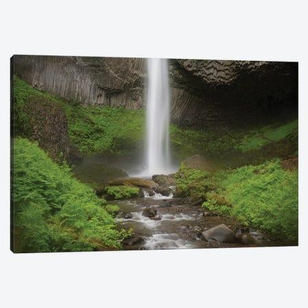 USA, Oregon, Columbia River Gorge. Latourell Falls landscape. Canvas Print #JYG141} by Jaynes Gallery Canvas Wall Art