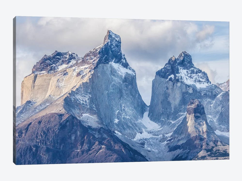 Chile, Patagonia. The Horns mountains I by Jaynes Gallery 1-piece Canvas Art