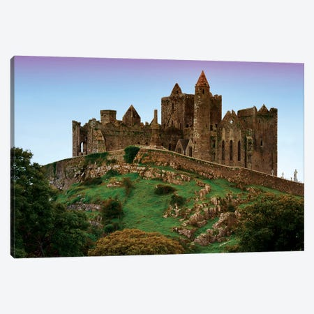 Ireland, Cashel. Ruins Of The Rock Of Cashel Cathedral And Fortress. Canvas Print #JYG205} by Jaynes Gallery Canvas Art