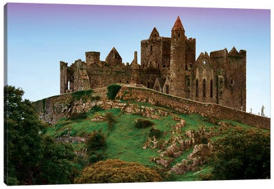 Ireland, Cashel. Ruins Of The Rock Of Cashel Cathedral And Fortress. Canvas Art Print