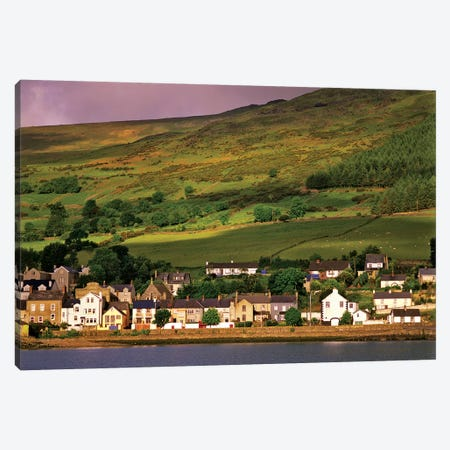 Ireland, County Louth. The Town Of Carlingford On The Mountainous Cooley Peninsula. Canvas Print #JYG206} by Jaynes Gallery Canvas Art