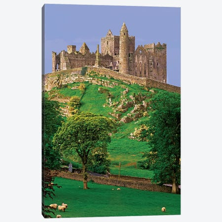 Ireland, County Tipperary. View Of The Rock Of Cashel, A Medieval Fortress. Canvas Print #JYG208} by Jaynes Gallery Canvas Print