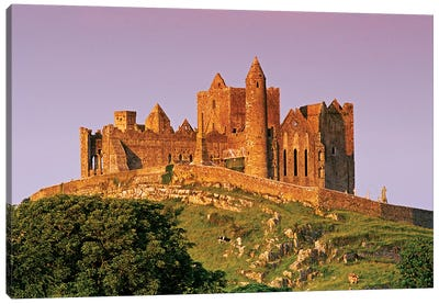 Ireland, County Tipperary. View Of The Rock Of Cashel, A Medieval Fortress. Canvas Art Print
