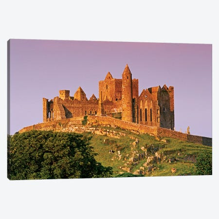 Ireland, County Tipperary. View Of The Rock Of Cashel, A Medieval Fortress. Canvas Print #JYG209} by Jaynes Gallery Canvas Art Print