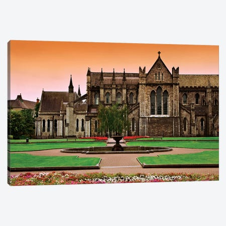 Ireland, Dublin. View Of St. Patrick's Cathedral. Canvas Print #JYG210} by Jaynes Gallery Canvas Wall Art
