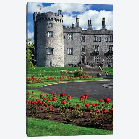 Ireland, Kilkenny. View Of Kilkenny Castle. Canvas Print #JYG212} by Jaynes Gallery Canvas Wall Art