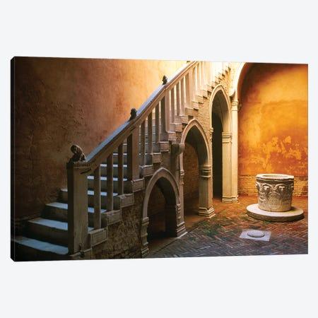 Italy, Venice. Casa Goldoni courtyard.  Canvas Print #JYG292} by Jaynes Gallery Canvas Art