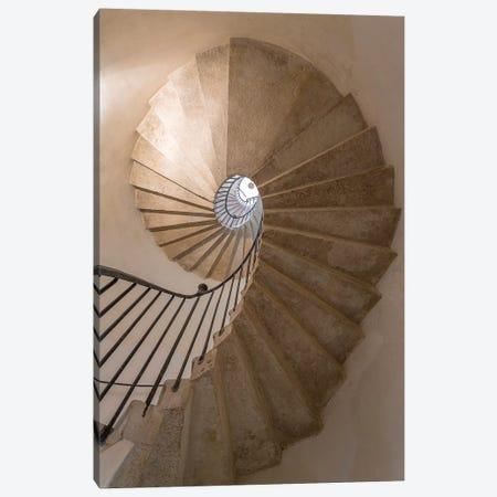 Italy, Venice. Spiral stairwell.  Canvas Print #JYG294} by Jaynes Gallery Art Print