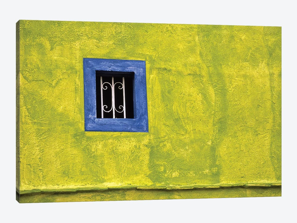 Mexico, Dolores Hidalgo. Window in side of house.  by Jaynes Gallery 1-piece Art Print