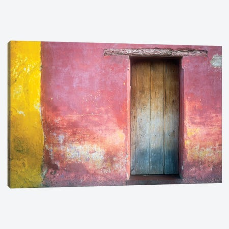 Mexico, Xico. House entrance.  Canvas Print #JYG313} by Jaynes Gallery Canvas Print