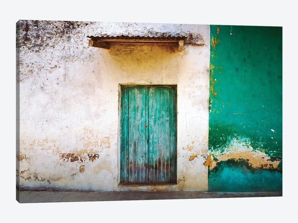Mexico, Xico. House entrance.  by Jaynes Gallery 1-piece Art Print