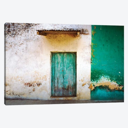 Mexico, Xico. House entrance.  Canvas Print #JYG314} by Jaynes Gallery Canvas Artwork