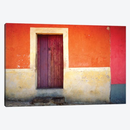 Mexico, Xico. House entrance.  Canvas Print #JYG315} by Jaynes Gallery Canvas Art