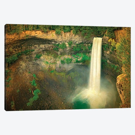 Canada, British Columbia. Brandywine Falls landscape. Canvas Print #JYG408} by Jaynes Gallery Canvas Print