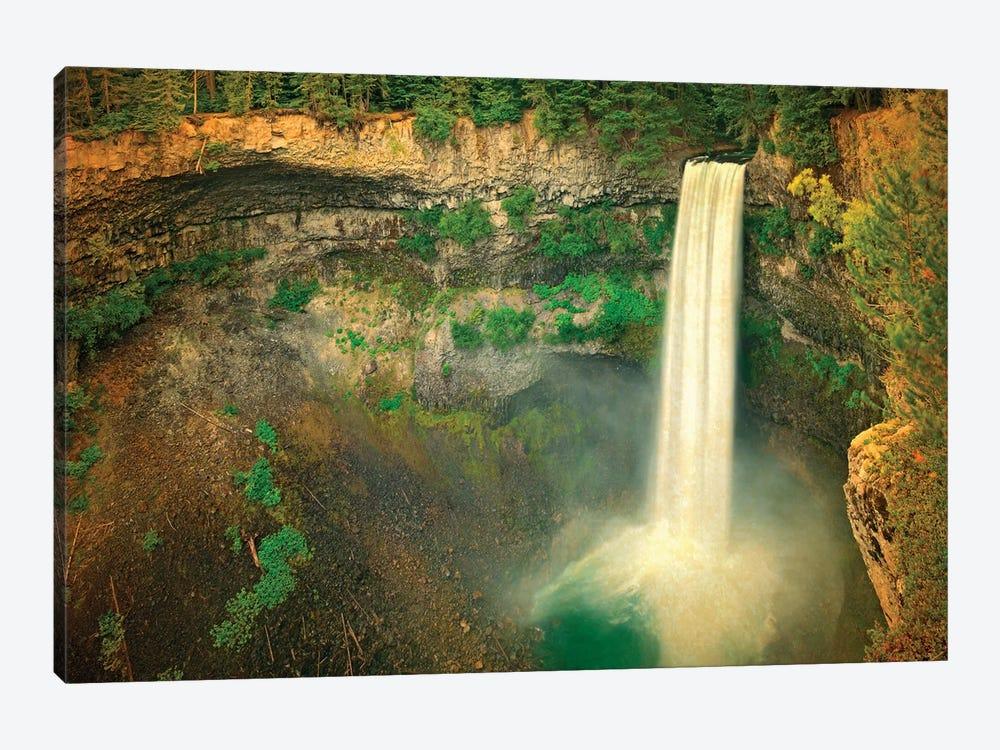 Canada, British Columbia. Brandywine Falls landscape. by Jaynes Gallery 1-piece Canvas Art Print