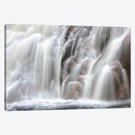 Canada, Nova Scotia, Cape Breton Highlands National Park. Mary Ann Falls waterfall. Canada Canvas Print #JYG449} by Jaynes Gallery Art Print