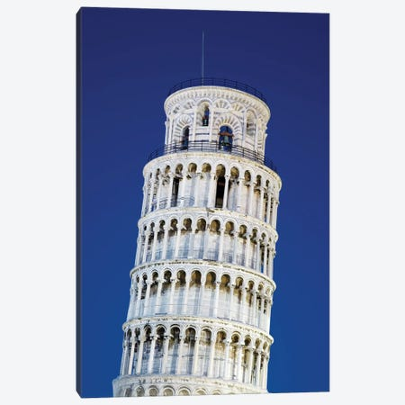 Italy, Pisa. Close-up of Leaning Tower Canvas Print #JYG53} by Jaynes Gallery Canvas Art Print