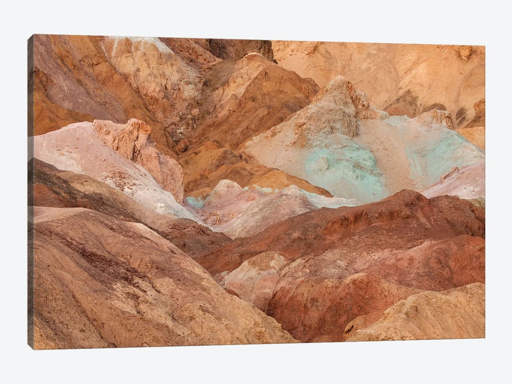 USA, California, Death Valley National Park. Arid landscape. by Jaynes Gallery 1-piece Canvas Print