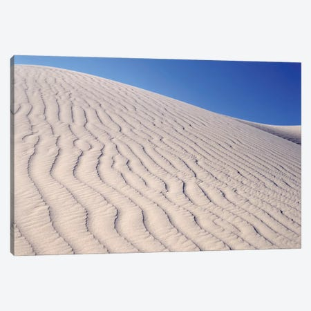 USA, California, Death Valley National Park. Sand dune patterns at Eureka Sand Dunes. Canvas Print #JYG631} by Jaynes Gallery Canvas Artwork