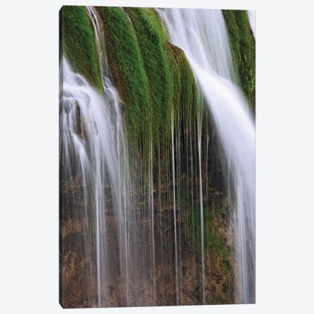 USA, Idaho, Caribou National Forest. Fall Creek Waterfalls scenic. Canvas Print #JYG668} by Jaynes Gallery Canvas Art Print