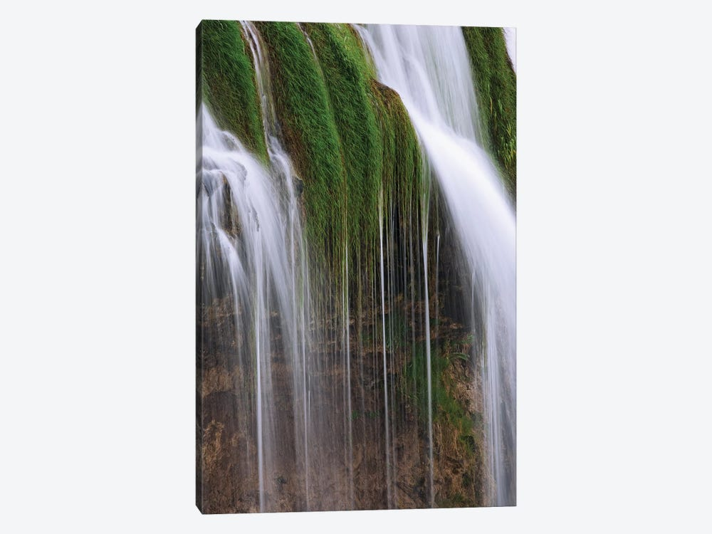 USA, Idaho, Caribou National Forest. Fall Creek Waterfalls scenic. by Jaynes Gallery 1-piece Canvas Art