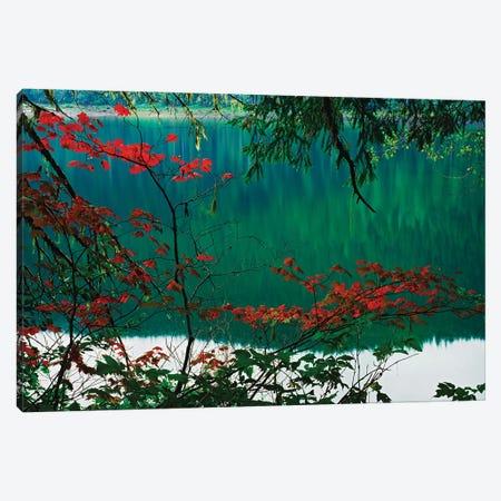 USA, Oregon, Three Sisters Wilderness. Linton Lake landscape. Canvas Print #JYG750} by Jaynes Gallery Art Print