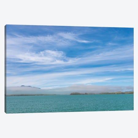 Usa, Alaska, Craig. Fog On Gulf Of Esquibel. Canvas Print #JYG997} by Jaynes Gallery Canvas Wall Art