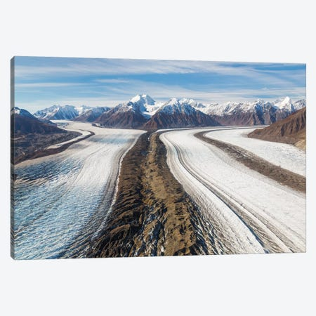Canada, Yukon Territory, St. Elias Mountains and Kaskawulsh Glacier. Canvas Print #JYG9} by Jaynes Gallery Canvas Print