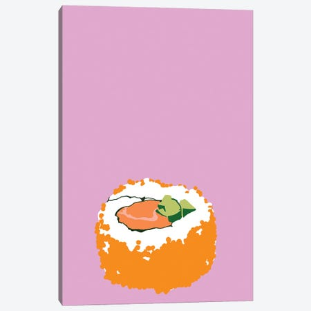 Sushi Canvas Print #JYM135} by Jaymie Metz Canvas Art