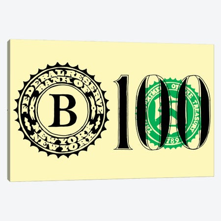 Bank Note Canvas Print #JYM13} by Jaymie Metz Canvas Art Print