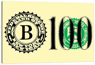 Bank Note Canvas Art Print