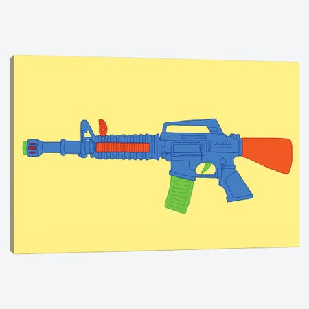 Toy M-16 Canvas Print #JYM161} by Jaymie Metz Canvas Artwork