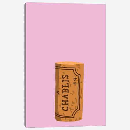 Chablis Cork Canvas Print #JYM16} by Jaymie Metz Canvas Artwork
